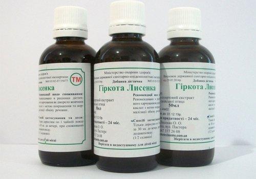 Гиркота Лысенко в лечении злокачественных опухол